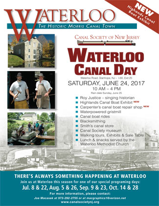 Waterloo Canal Day 2017